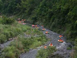 黄山夹溪河漂流
